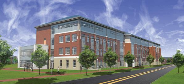 Norfolk State Nursing Building - Spray Foam Air Barrier System