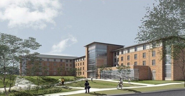 GMU Student Housing Fluid Applied Membrane Taylor Hall