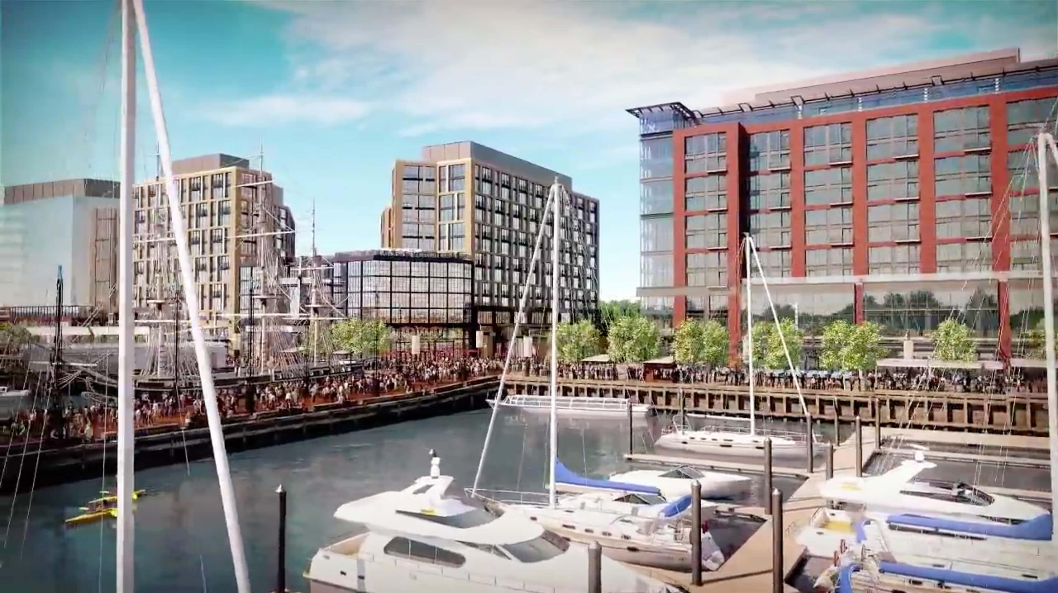 The Wharf Washington D C Building Envelope Portfolio