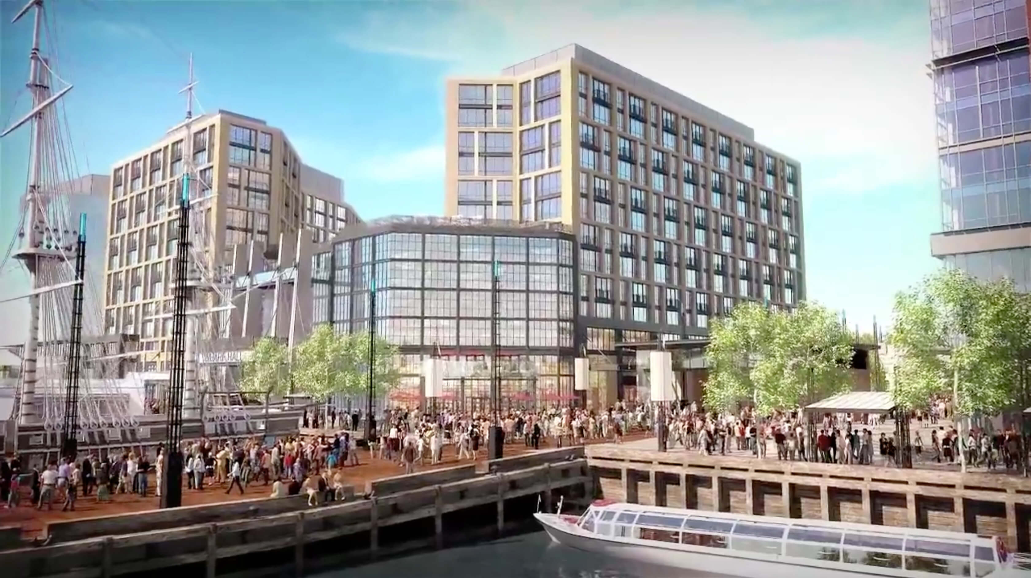 Washington Square Mall >> Building Envelope Systems Begin at The Wharf in Washington D.C.