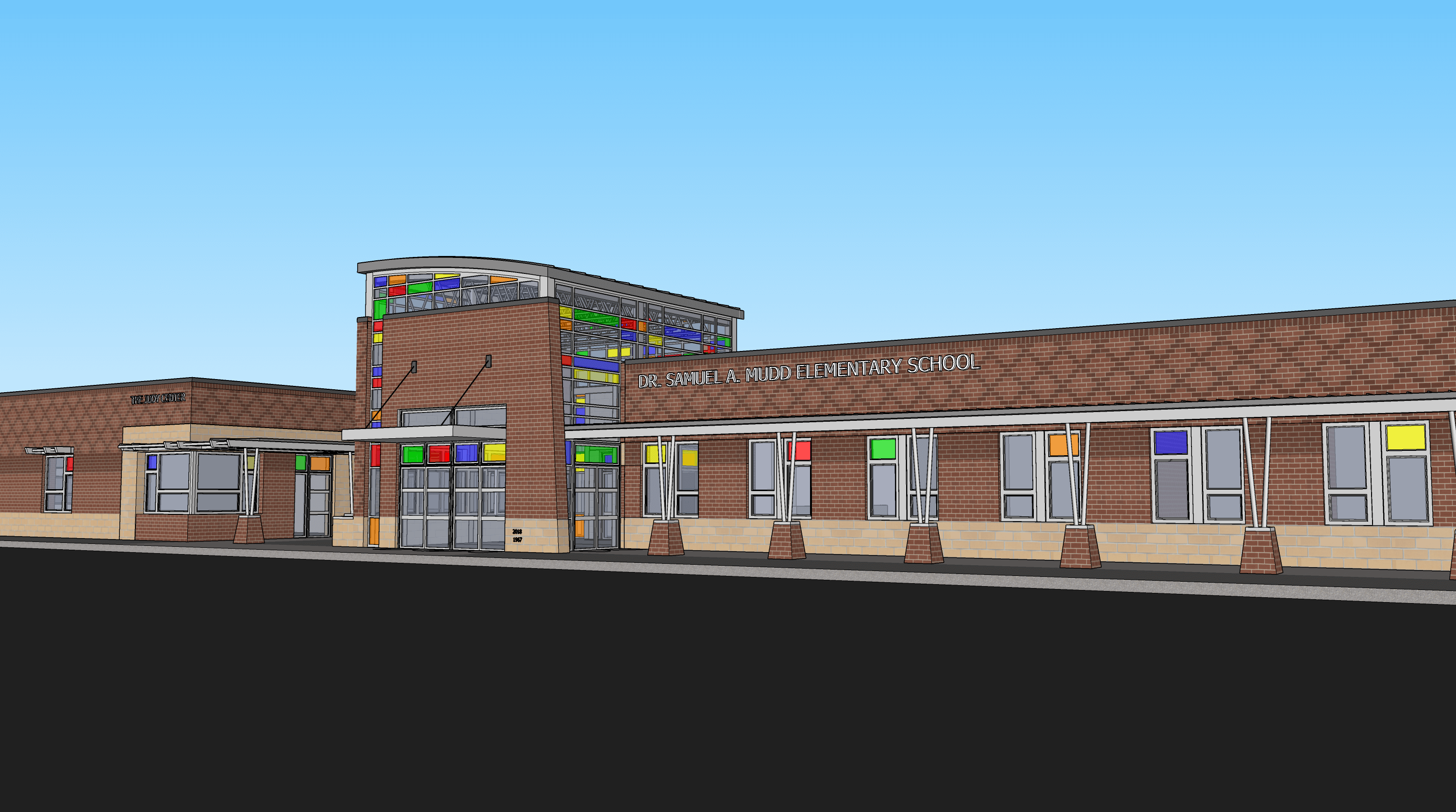 Dr Samuel Mudd Elementary School renovation
